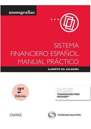 SISTEMA FINANCIERO ESPAÑOL. MANUAL PRACTICO (PAPEL + E-BOOK)