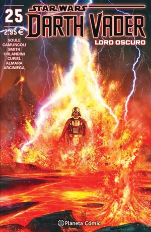 STAR WARS DARTH VADER LORD OSCURO Nº 25/25