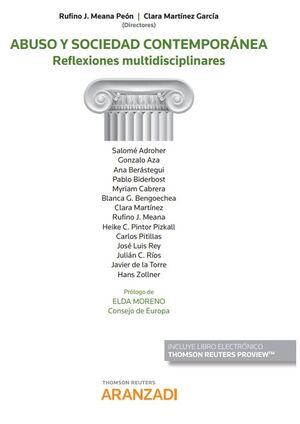 ABUSO Y SOCIEDAD CONTEMPORANEA (PAPEL + E-BOOK)