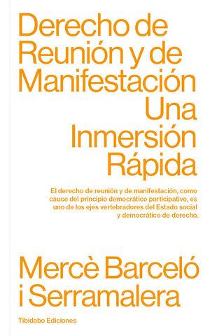 DERECHO DE REUNION Y DE MANIFESTACION