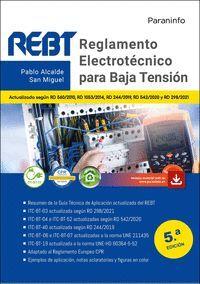 REGLAMENTO ELECTROTECNICO PARA BAJA TENSION  5.ª EDICION 2021