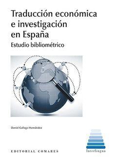 TRADUCCION ECONOMICA E INVESTIGACION EN ESPAÑA