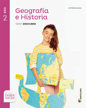 GEOGRAFIA E HISTORIA 2ESO EXTREM + CUADERNO SANTILLANA EDUCACION