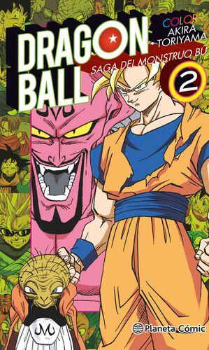 DRAGON BALL COLOR BU Nº 02/06