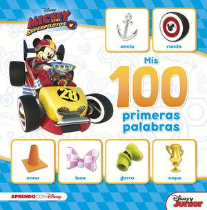 MIS 100 PRIMERAS PALABRAS CON MICKEY (MIS 100 PRIMERAS PALABRAS CON DISNEY)