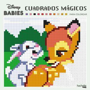 CUADRADOS MAGICOS PARA COLOREAR - DISNEY BABIES