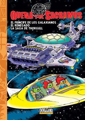 QUENA Y EL SACRAMUS VOL. 4
