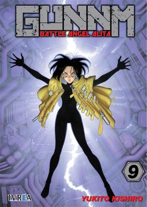 GUNNM (BATTLE ANGEL ALITA) 9