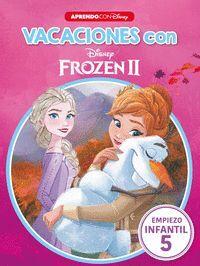 VACACIONES CON FROZEN II LIBRO EDUCATIVO