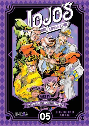JOJO´S BIZARRE ADVENTURE: DIAMOND IS UNBREAKABLE 5