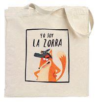BOLSA 'YO SOY LA ZORRA'
