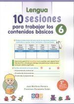 10 SESIONES PARA TRABAJAR LOS CONTENIDOS BASICOS 6