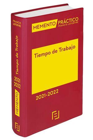 MEMENTO TIEMPO DE TRABAJO 2021-2022