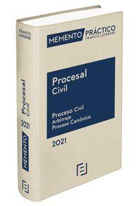 MEMENTO PROCESAL CIVIL 2021