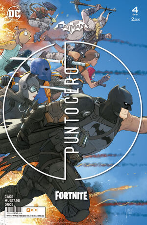 BATMAN/FORTNITE: PUNTO CERO NUM. 04 DE 6