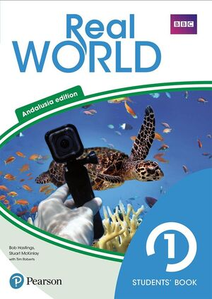 REAL WORLD 1 STUDENTS' BOOK WITH ONLINE AREA (ANDALUSIA)