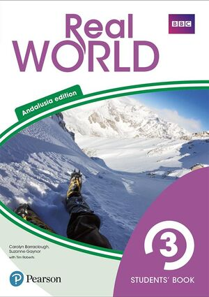 REAL WORLD 3 STUDENTS' BOOK WITH ONLINE AREA (ANDALUSIA)
