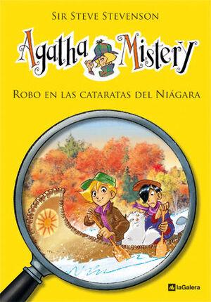 AGATHA MISTERY 4. ROBO EN LAS CATARATAS DEL NIAGARA