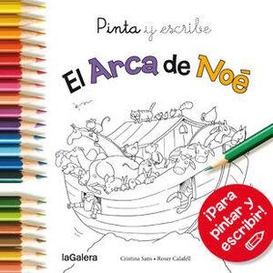 PINTA Y ESCRIBE EL ARCA DE NOE