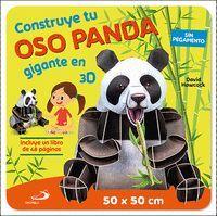 CONSTRUYE TU OSO PANDA GIGANTE EN 3D