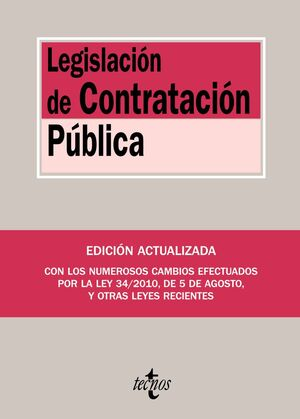 LEGISLACION DE CONTRATACION PUBLICA