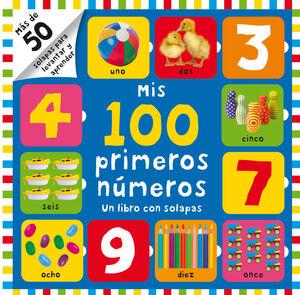 MIS 100 PRIMEROS NUMEROS (UN LIBRO CON SOLAPAS)