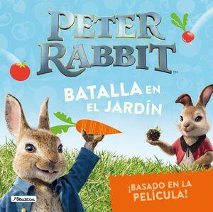 BATALLA EN EL JARDIN (PETER RABBIT. ALBUM ILUSTRADO)