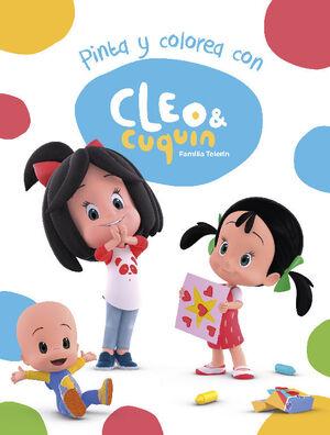 PINTA Y COLOREA CON CLEO Y CUQUIN (CLEO Y CUQUIN. ACTIVIDADES)