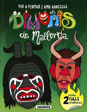 DIMONIS DE MALLORCA PER A PINTAR I AMB ADHESIUS 1
