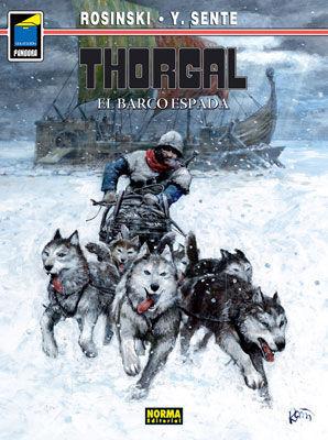 THORGAL 33, EL BARCO DE ARENA