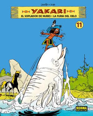 YAKARI 11, EL SOPLADOR DE NUBES  LA FURIA DEL CIELO