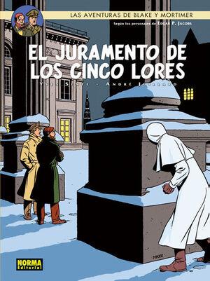 LAS AVENTURAS DE BLAKE Y MORTIMER 21, EL JURAMENTO DE LOS CINCO LORES