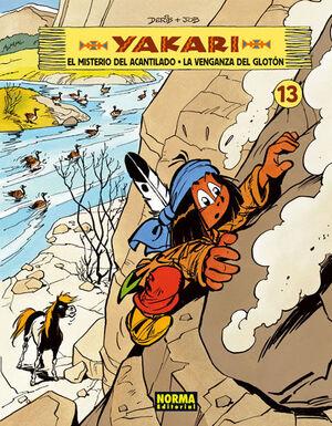YAKARI 13, EL MISTERIO DEL ACANTILADO ; LA VENGANZA DEL GLOTON