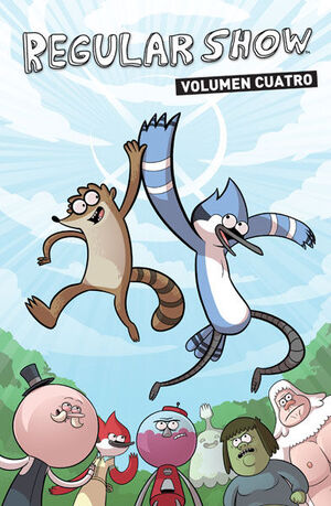 REGULAR SHOW (HISTORIAS CORRIENTES) 4