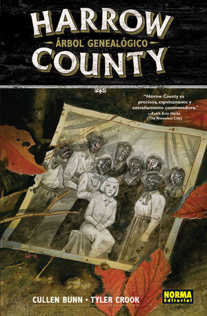 HARROW COUNTY 4. ARBOL GENEALOGICO