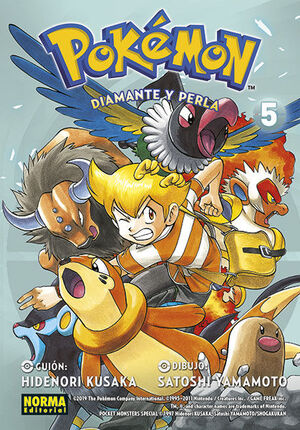 POKEMON 21. DIAMANTE Y PERLA 5