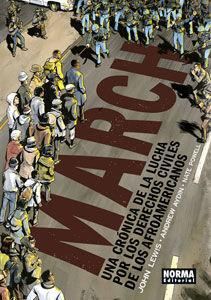 MARCH. UNA CRONICA DE LA LUCHA POR LOS DERECHOS DE LOS AFROAMERICANOS