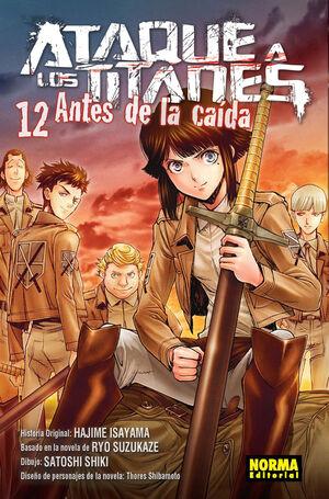 ATAQUE A LOS TITANES: ANTES DE LA CAIDA 12