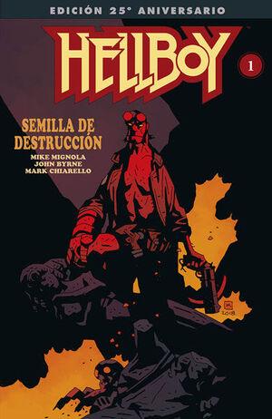 HELLBOY: SEMILLA DE DESTRUCCION. EDICION GIGANTE ESPECIAL 25 ANIVERSARIO
