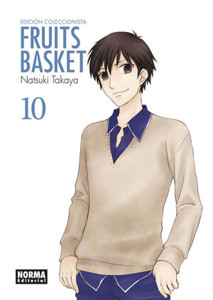 FRUITS BASKET ED. COLECCIONISTA 10