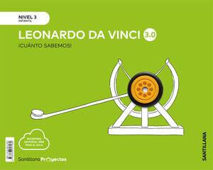 CUANTO SABEMOS NIVEL 3 LEONARDO DA VINCI 3.0