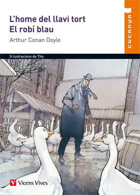 L'HOME DEL LLAVI TORT. EL ROBI BLAU