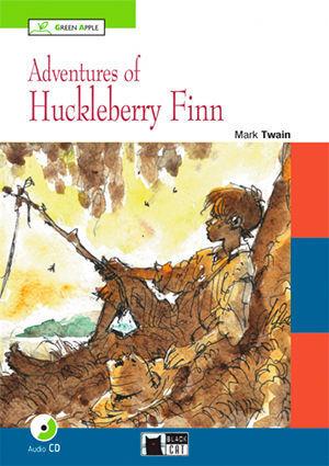 ADVENTURES OF HUCKLEBERRY FINN+CD