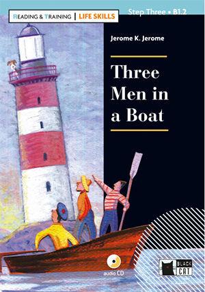 THREE MEN IN A BOAT+CD LIFE SKILLS