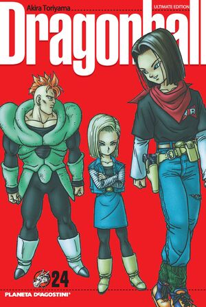 DRAGON BALL Nº 24/34 PDA
