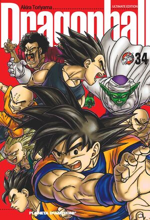 DRAGON BALL Nº 34/34 PDA