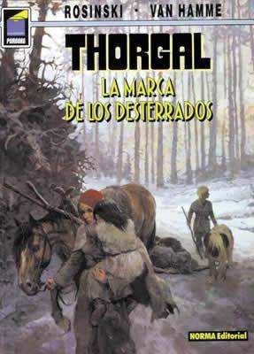 PAN 55 THORGAL 20 MARCA DE DESTERRADOS