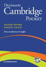 DICCIONARIO BILINGUE CAMBRIDGE SPANISH-ENGLISH FLEXI-COVER WITH CD-ROM POCKET ED