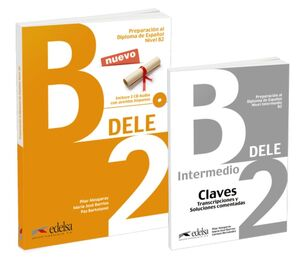 PACK DELE B2 (LIBRO + CLAVES)