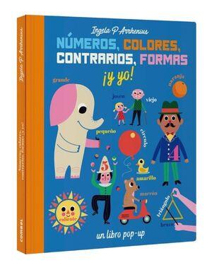 NUMEROS COLORES CONTRARIOS FORMAS Y YO
